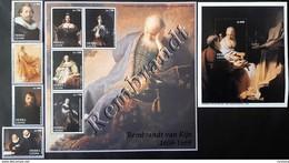 # Sierra Leone 2003** Mi.4388-96 Painting-Rembrandt , MNH [23,24] - Rembrandt