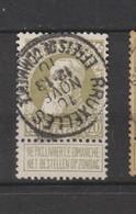 COB 75 Oblitéré BRUXELLES Effets De Commerce - 1905 Grosse Barbe