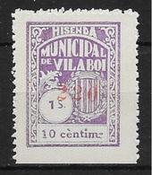 VILABOI (BARCELONA). EDIFIL NUM. 3* - Emisiones Nacionalistas