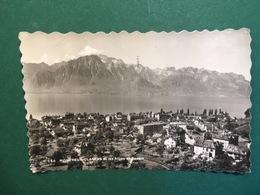 Cartolina Montreux Clarens Et Les Alpes De Savoie - 1951 - Cartoline