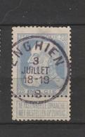 COB 76 Oblitéré ENGHIEN - 1905 Grosse Barbe