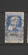 COB 76 Oblitéré BRUXELLES 1 A - 1905 Grosse Barbe