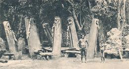 NOUVELLES HEBRIDES - N° VI - LES TABOUS (CARTE PUBLICITAIRE PLASMARINE) (ANNEE 1954) - Vanuatu
