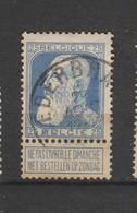 COB 76 Oblitéré NEDERBRAKEL - 1905 Grosse Barbe