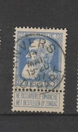 COB 76 Oblitéré ANVERS Départ - 1905 Grosse Barbe