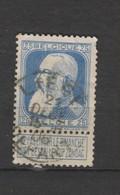 COB 76 Oblitéré LIEGE Départ - 1905 Grosse Barbe