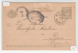 Hungary - Croatia, Postal Stationery Levelező-lap Dopisnica Travelled 1906 Majur To Rohitsch B190110 - Croatia