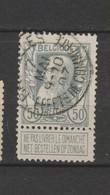 COB 78 Oblitéré BRUXELLES Effets De Commerce - 1905 Grosse Barbe