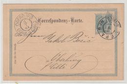 Brüder Wolfbauer, Pernegg Pre-printed Postal Stationery Travelled 1901 Wien-Triest Pmk To Gornji Grad (Oberburg) B190110 - Slovénie