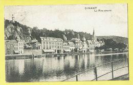 * Dinant (Namur - Namen - La Wallonie) * (Maison Destexhe) La Rive Droite, Canal, Quai, Rare, Old, CPA, Unique - Dinant