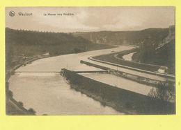 * Waulsort (Hastière - Namur - La Wallonie) * (Nels, Serie Waulsort, Nr 36) Bords De La Meuse, Meuse Vers Hastière, Quai - Hastière