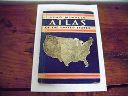 RARE ATLAS OF THE UNITED STATES RAND McNALLY 1935 BON ETAT 64 PAGES RICHES EN CARTES DIVERSES ET PHOTOS DES U.S.A. - Atlas, Cartes
