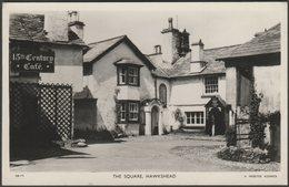 The Square, Hawkshead, Lancashire, 1961 - Webster RP Postcard - England