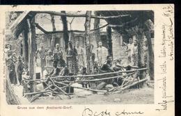 Ghana - Gold Cost - Aschanti Town - 1900 - Ghana - Gold Coast