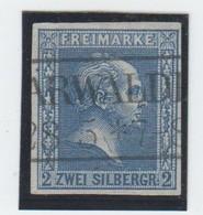 Preussen , Nr. 11 , Plattenfehler II ( 150.-) - Preussen