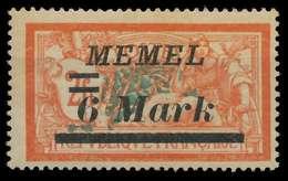 MEMEL 1922 Nr 70 Ungebraucht X88763E - Memelgebiet