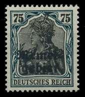 MEMEL 1920 GERMANIA Nr 8a Ungebraucht X887682 - Memelgebiet
