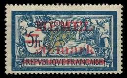 MEMEL 1920 Nr 33 Ungebraucht Gepr. X8876A6 - Memelgebiet