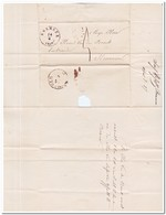 Brief Naar Heumen, Afstempeling Boxmeer 1857 En Nijmegen ( 14 April 1857 ) - Periode 1852-1890 (Willem III)