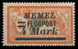 MEMEL 1922 Nr 104 Postfrisch X88771A - Memelgebiet