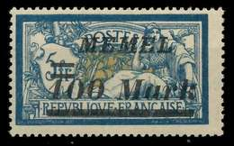 MEMEL 1922 Nr 118 Postfrisch X887796 - Memelgebiet