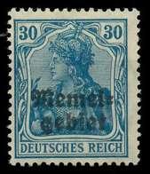 MEMEL 1920 GERMANIA Nr 15 Ungebraucht X8877EA - Memelgebiet