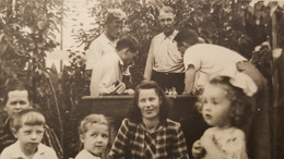 Garçon - Men Playing Chess  - Vintage Photography 1930s  Old USSR Photo - JEU - ECHECS - CHESS - ECHECS - Sports