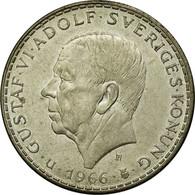 Monnaie, Suède, Gustaf VI, 5 Kronor, 1966, TTB, Argent, KM:839 - Suède