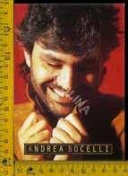 Personaggio Attore Attrice Cantante Musica Teatro Cinema Andrea Bocelli - Artisti