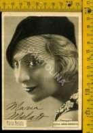 Personaggio Attore Attrice Cantante Musica Teatro Cinema Autografo Maria Melato - Artisti
