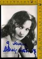 Personaggio Attore Attrice Cantante Musica Teatro Cinema Autografo Maria Antonietta Valentini - Artisti