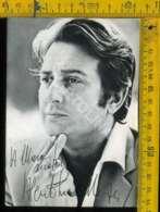 Personaggio Attore Attrice Cantante Musica Teatro Cinema Autografo Alberto Lionello - Artisti