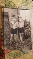 Soviet Life - Petit Garçon Nu -little Boy - Vintage Photography Circa 1950s Old USSR Photo - Non Classificati