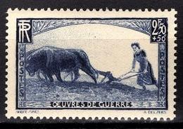 FRANCE 1940 - Y.T. N° 457 - NEUF** /6 - France