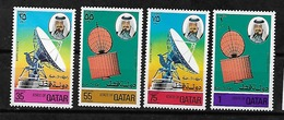 #568A# QATAR MICHEL  673/676 MNH** . SPACE. - Qatar