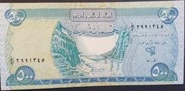 AU10 - Iraq 2004 Banlnote 500 Dinars - Iraq