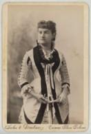 Cabinet Circa 1883 Salas Y Martinez à Caracas (Vénézuéla). Portrait De Femme élégante (épouse Du Consul De France). - Photos