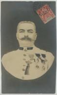Carte Photo D'un Militaire Fort Décoré En Indochine . Départ Cholon 1905 . 11e RIC ? Ordre De L'Annam , Kim Kham ? - Guerre, Militaire