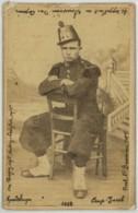CDV Militaire Chardin à Dijon Légendée Camp Jacob Guadeloupe 1883 . 3 Sur Le Shako . - Photographs