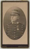 CDV Militaire 1880-90 Dutil à Montauban . Un Commandant . 10 Sur Le Col . 10e Dragons ? - Photos