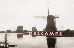 ANNA PAULOWNA - Hollands Kroon (N.H.) - Molen/moulin - De Verdwenen Poldermolen Bij De Ewijcksluis. Fraai! - Nederland
