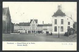 +++ CPA - TURNHOUT - Grand'Place Et La Poste - Groote Markt   // - Turnhout