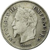 Monnaie, France, Napoleon III, Napoléon III, 20 Centimes, 1868, Strasbourg - France