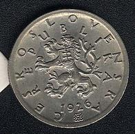 Tschechoslowakei, 50 Haleru 1926, UNC, Rarität! - Czechoslovakia