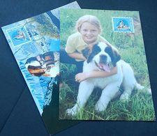 Schweiz Suisse 2001: Bernhardiner Saint Bernard Dog Zu 1025 Mi 1760 Yv 1685 Auf 2 MK - Chiens