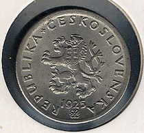 Tschechoslowakei, 20 Haleru 1925, UNC, Rarität! - Czechoslovakia