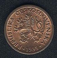 Tschechoslowakei, 10 Haleru 1938, UNC! - Czechoslovakia