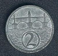 Tschechoslowakei, 2 Halere 1925 - Tschechoslowakei