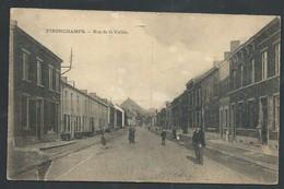 +++ CPA - PIRONCHAMPS - Rue De La Vallée - Cachet Timbre Taxe   // - Farciennes