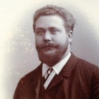 DUISBURG - JOH. NIENBERG - STATTLICHER MANN - WIDMUNG - RUHRORT - DUESSELDORF - 1891 - Identifizierten Personen